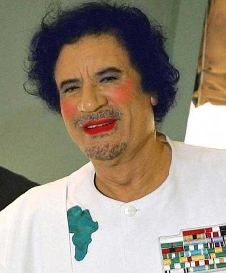 Gaddafi Crazy Dictator