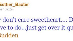 Esther Baxter Clowns Joe Budden Tweet