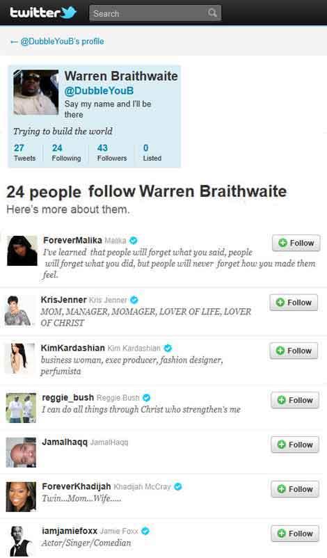 Serial Abuser Warren Braithwaite