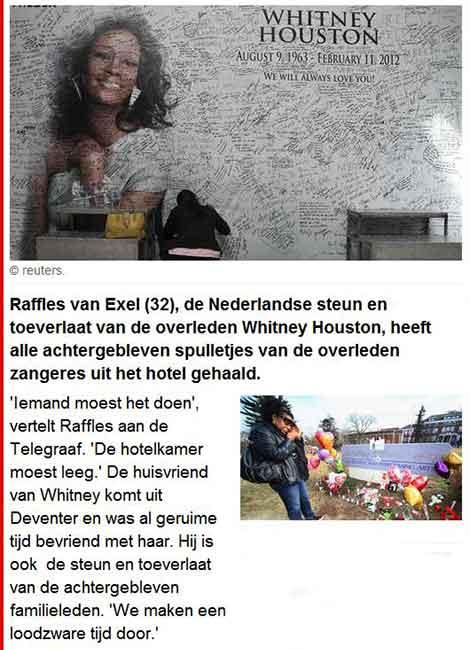 Raffles van Exel Confession