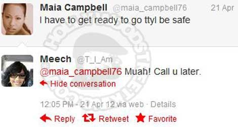Tia Rowe has Maia Campbell Whoring