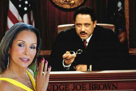 Freda Payne Judge Joe Brown's Mistress