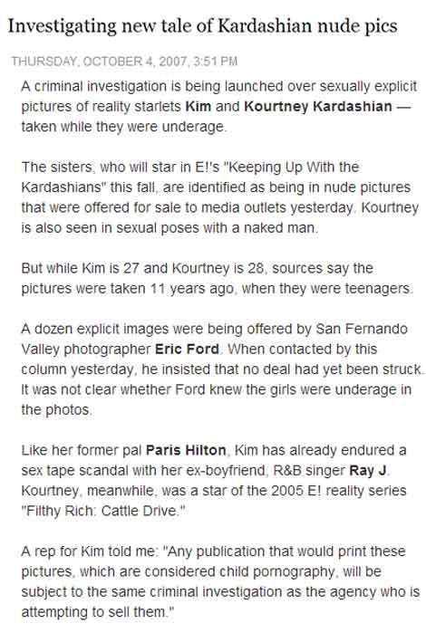 Kourtney Kardashian Sex Photos