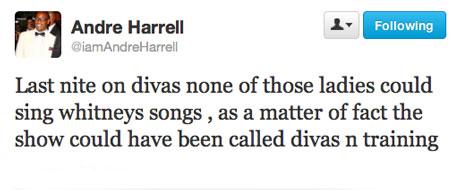 Andre Harrell Tweets Diva Diss