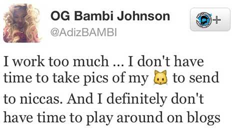 BBWLA Bambi Denies Nude Photo Scandal