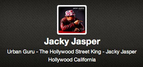 Fake Jacky Jasper Accounts