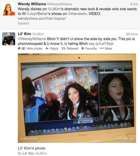 Lil Kim vs. Wendy Williams