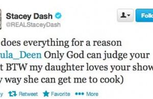 Stacy Dash a Paula Deen Defender
