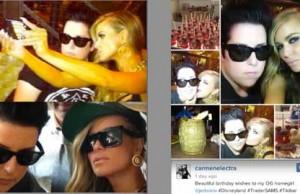 Carmen Electra's Lesbian Lover Revealed
