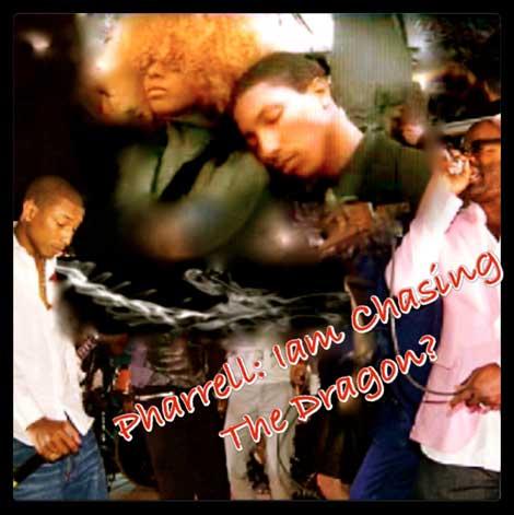 Pharrell Williams Hooked on Heroine