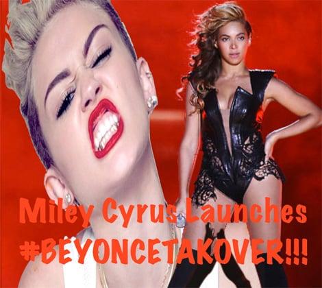 Miley Cyrus vs. Beyonce