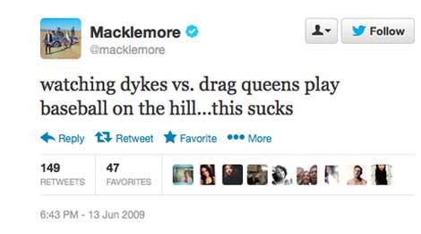 Macklemore Bigot