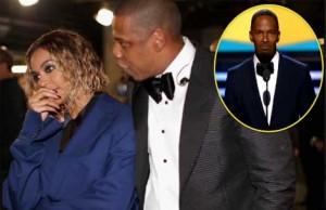 Beyonce's Grammy Bomb - Jamie Foxx