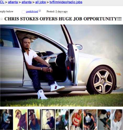 Chris Stokes Trolling Craigslist