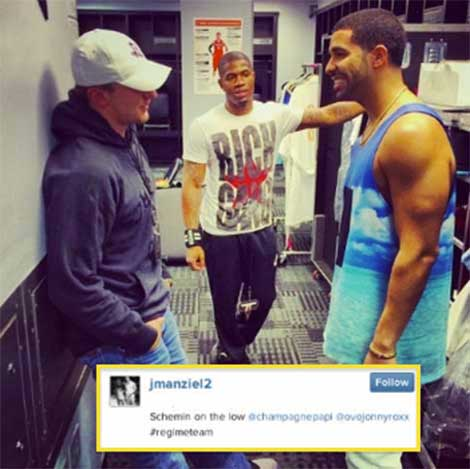 Drake Bumps Jocks