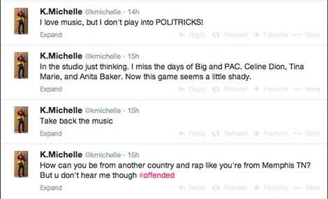K Michelle Beefin W/ Iggy Azailea