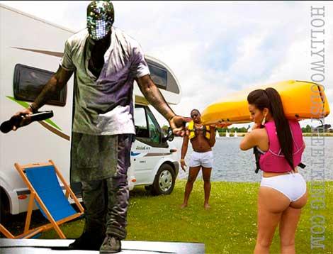 Kanye West Uses Standin