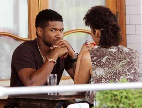 Usher & Grace Miguel Secret Wedding