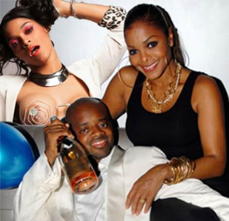 Janet Jackson Jermaine Dupri Three-some Joseline Hernandez