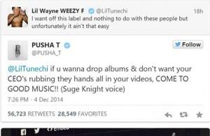 Lil Wayne Pusha T
