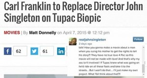 Tupac Biopic Cursed