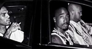 Chris Brown Tupac Photoshop