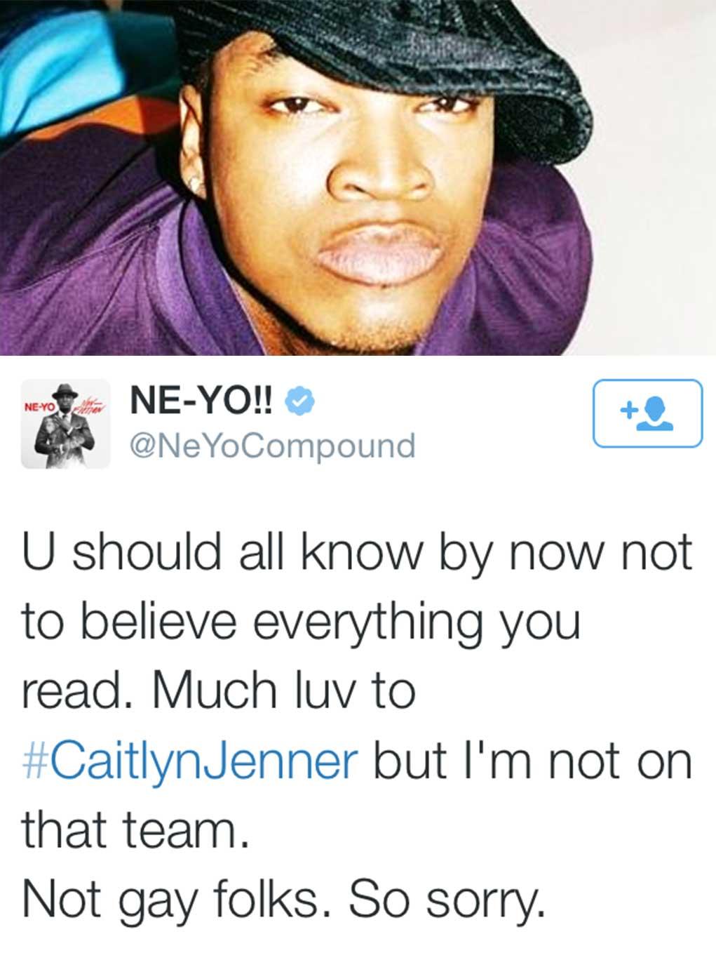 Neyo Admits He Is Gay 112