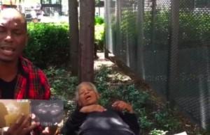 Tyrese Mocks Homeless Woman to Promote Album