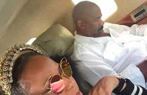 steve harvey sued private jet