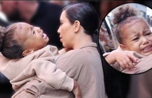 kim kanye north west therapy