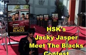HSK Jacky Jasper Meet The Blacks Contest