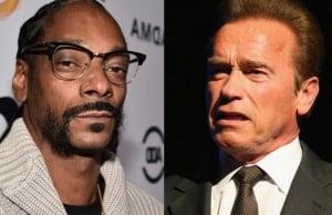 Snoop Dogg Arnold Schwarzenegger racist